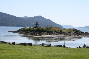 Indian Island in Fishing Bay, Orcas Island WA