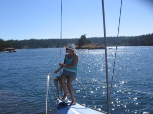 Birthday Boating in the San Juan Islands