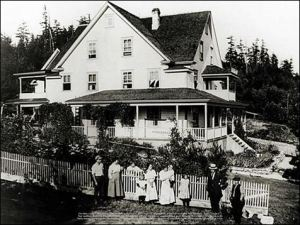 Historic photo of Orcas Hotel, Orcas Island WA