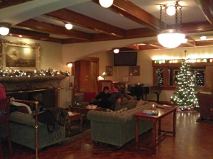 Living Room at Moran Mansion, Rosario Resort - Orcas Island