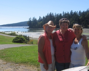 Teri-Williams-and-friends-at-Buck-Bay-Shellfish-Farm