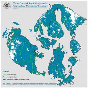 OPALCO Broadband Coverage Map