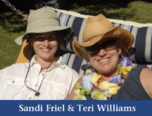 Sandi Friel and Teri Williams