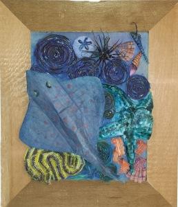 Undersea scene - by recycled-materials artist Alise Antonio