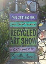 The Exchange Recycled Art Show on Orcas Island