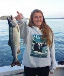 Pink Salmon off Stuart Island
