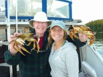 Dungeness crabs on Orcas Island