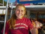 Spot prawns off Orcas Island