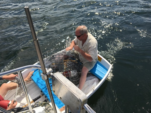 Crabbing with Gramps J