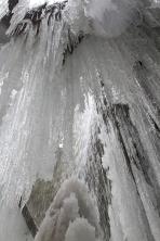 Snow cave in Moran Park