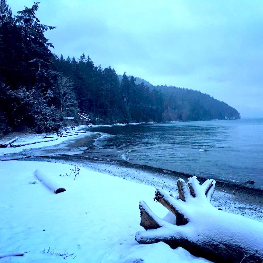 Orcas Island Snow Daze…