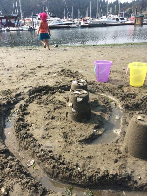 Deer Harbor Sand Castles