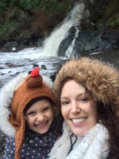 Judd Cove Waterfall in January!